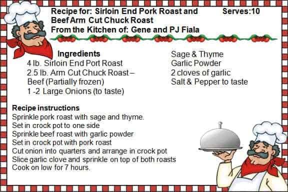 Beef-Pork Recipe